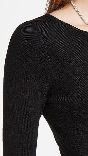 Victor Glemaud Cut Shoulder Dress