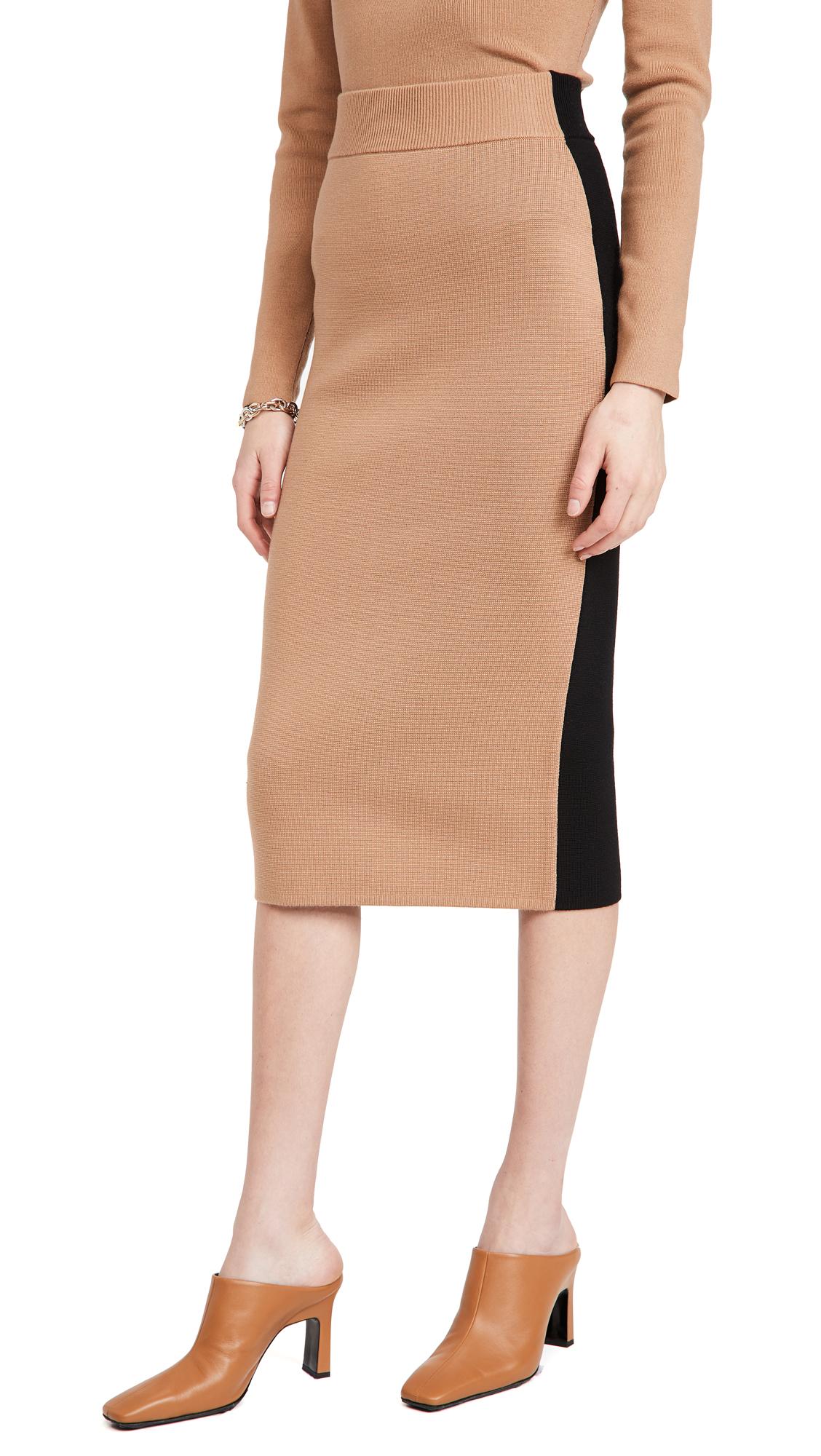 Victor Glemaud Colorblock Skirt