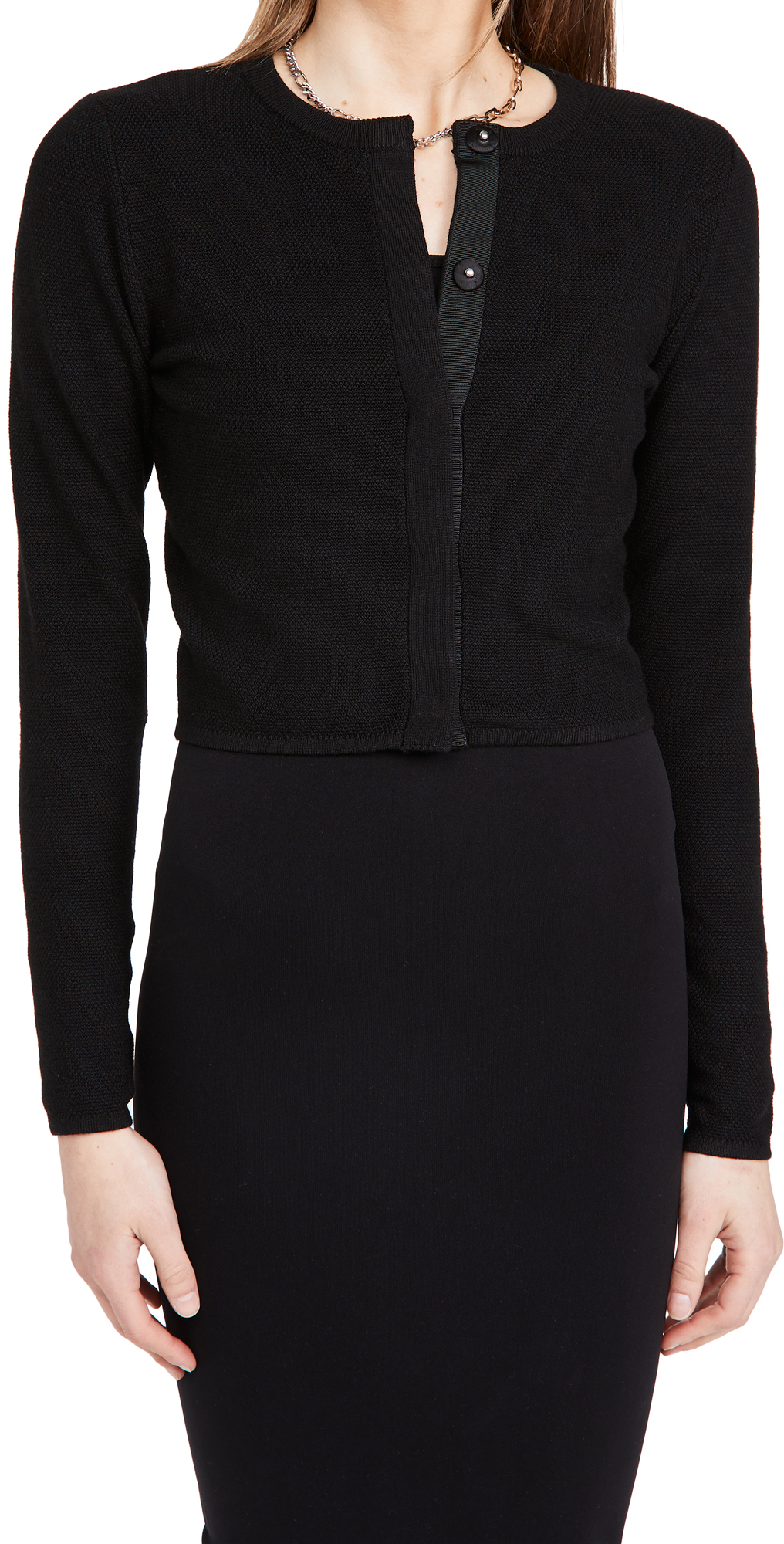 Victor Glemaud Cropped Cardigan