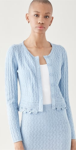 Victor Glemaud - Pointelle Cardigan