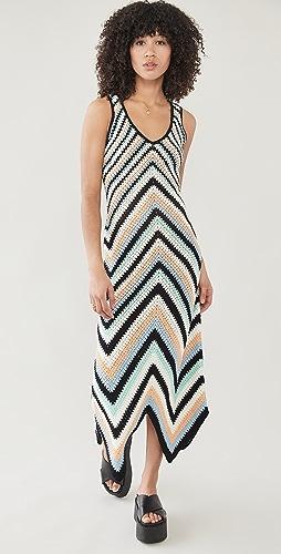 Victor Glemaud - Striped Dress