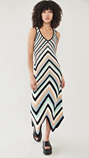 Victor Glemaud Striped Dress