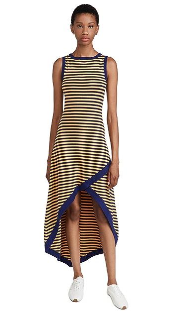Victor Glemaud Sleeveless Asymmetrical Dress