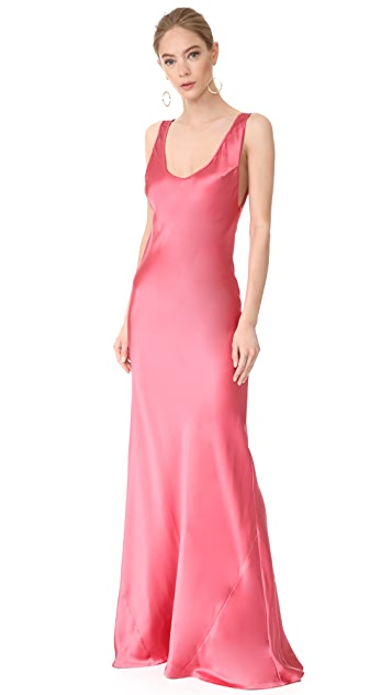 Galvan London Signature Valletta Dress