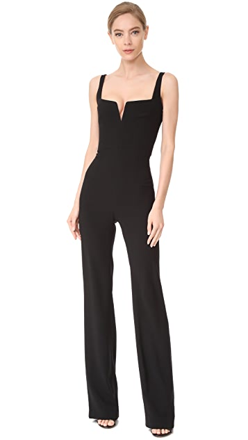 Galvan London Signature Corset Jumpsuit