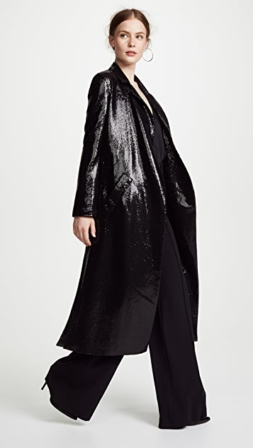 Galvan London Sun Sequin Coat