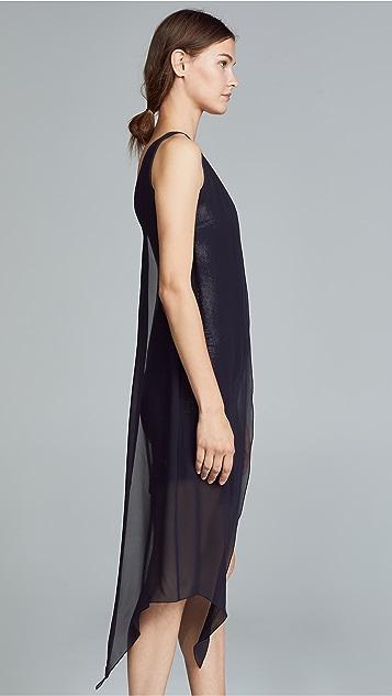Galvan London Платье с блестками Serpentine