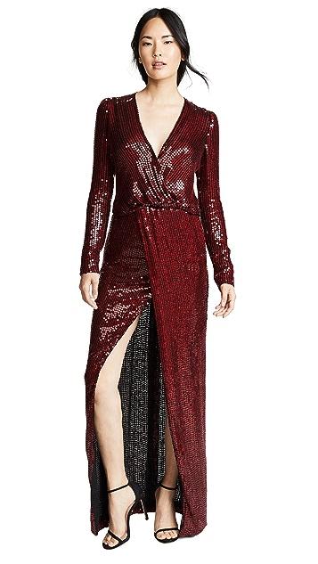 Galvan London Sequined Vera Dress