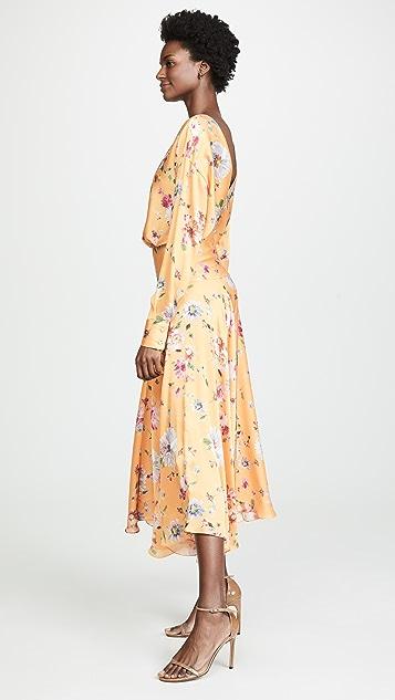 Galvan London Majorelle Cocktail Dress