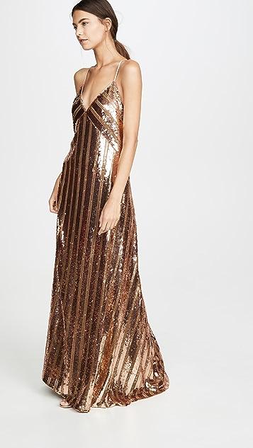 Galvan London Stardust Slip Dress