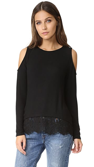 Generation Love Martha Cold Shoulder Sweater