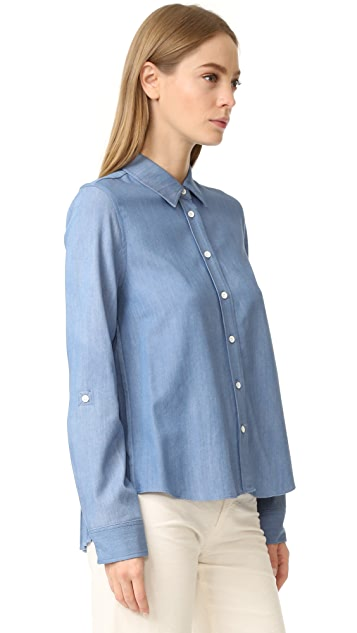 Generation Love Kris Shirt with Pleated Back