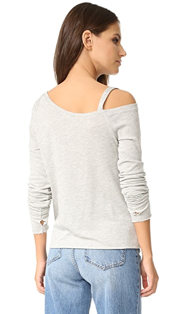 Generation Love Drexler Off Shoulder Sweatshirt