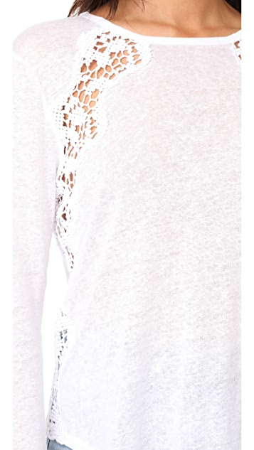 Generation Love Bowie Lace Long Sleeve Tee