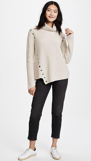 Generation Love Ambrose Eyelets Sweater