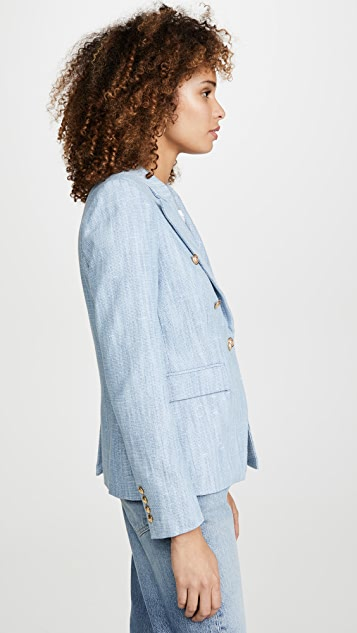Generation Love Adele Denim Tweed Blazer