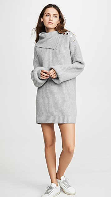 Generation Love Wilson Buttons Sweater Dress