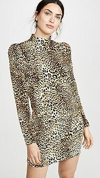 Adeline Leopard Dress