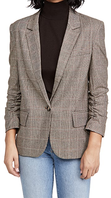 Generation Love Jameson Plaid Boyfriend Blazer