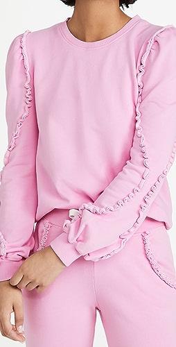 Generation Love - Cleo Ruffle Sweatshirt