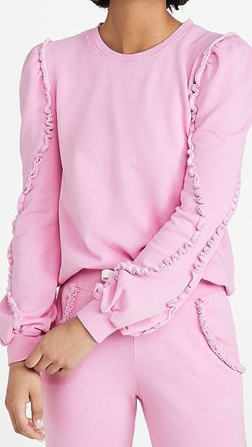 Generation Love Cleo Ruffle Sweatshirt