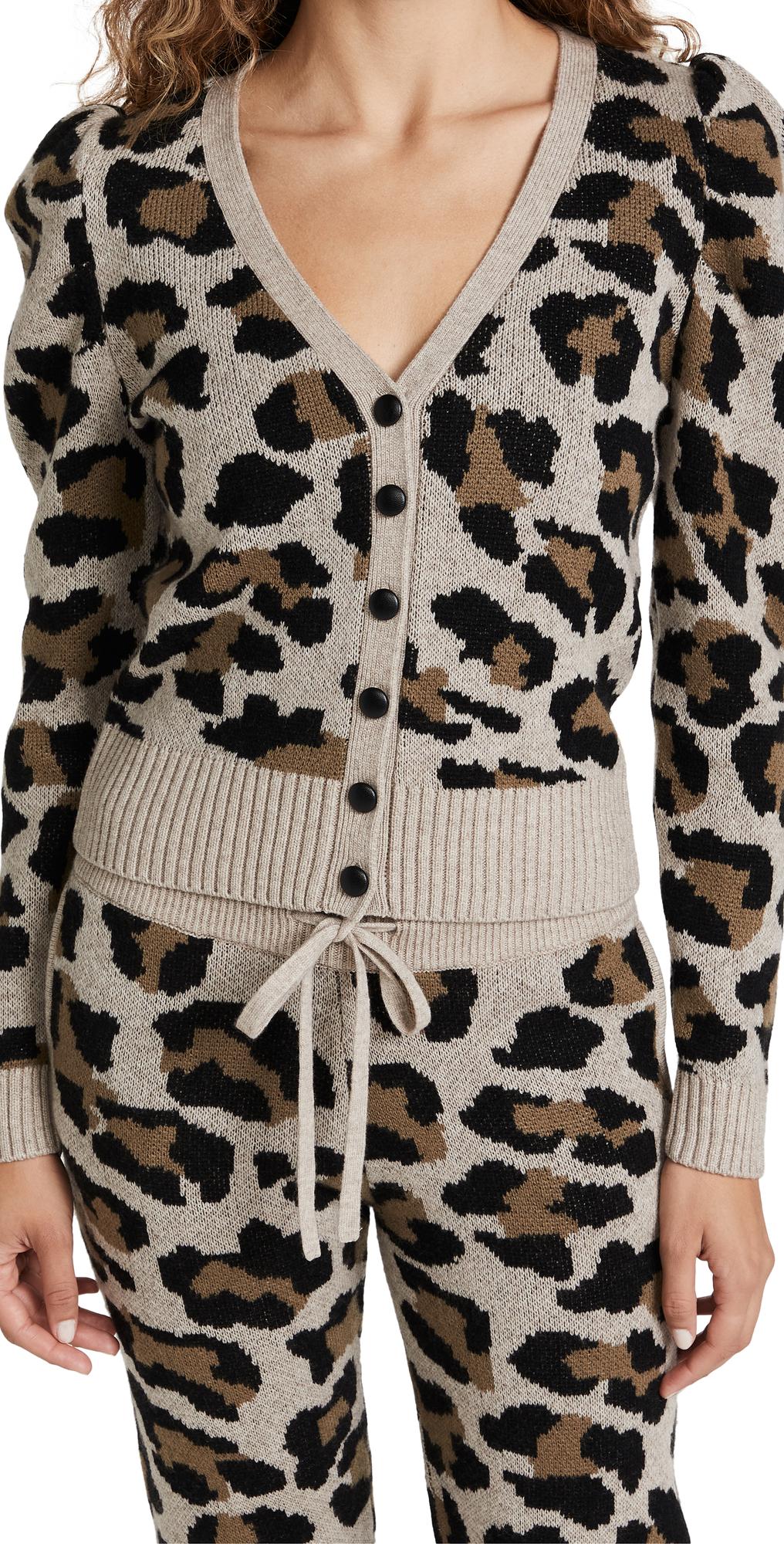Grace Leopard Cardigan