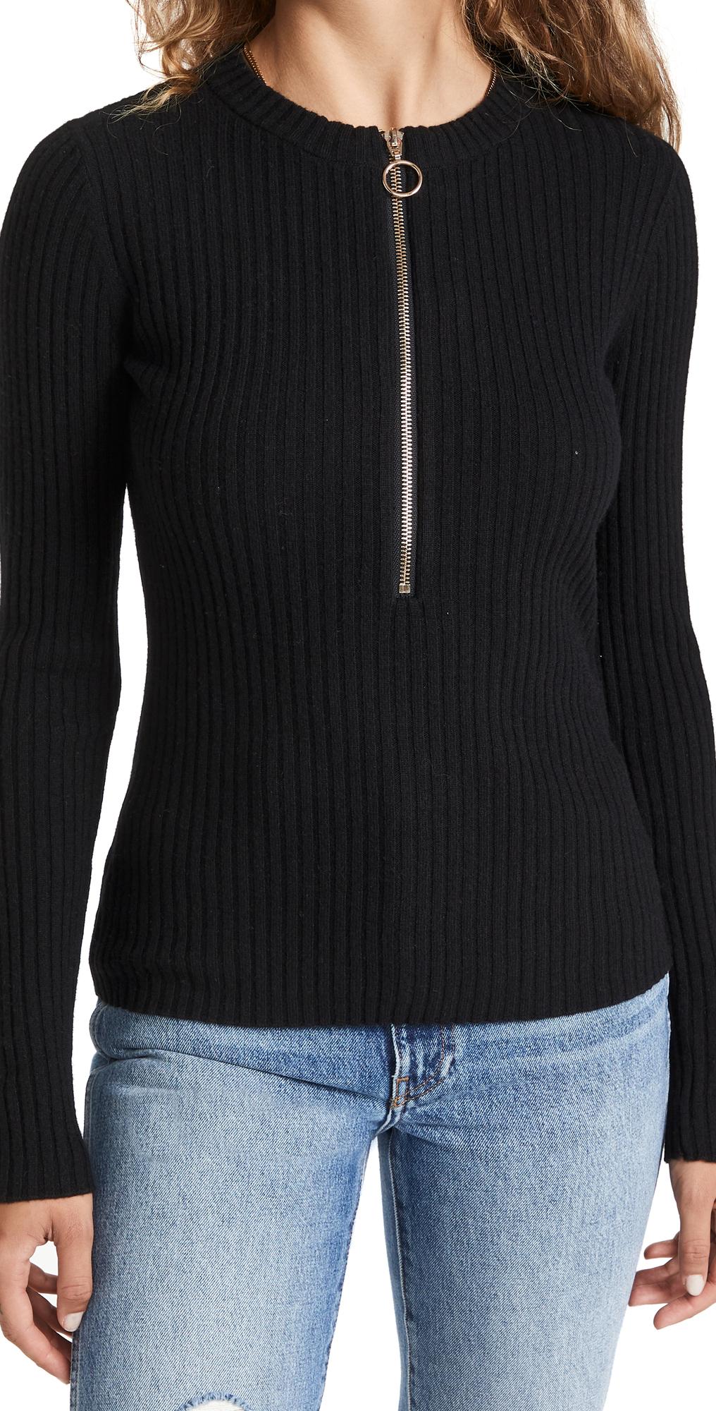 Ali Zipper Sweater
