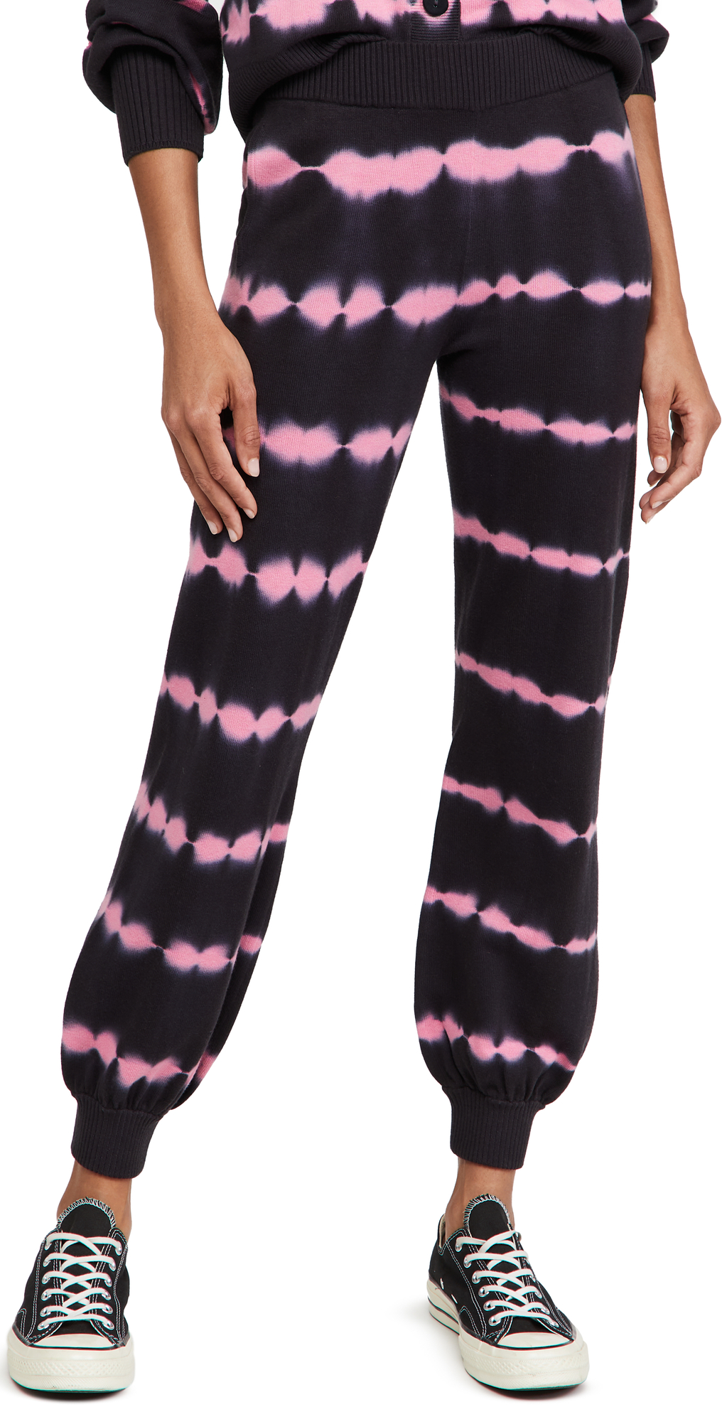 Anna Tie Dye Knitted Joggers