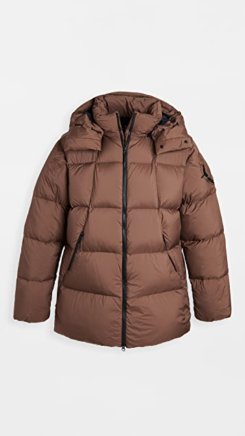 Goldwin Hooded Spur Down Coat