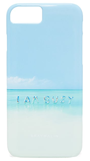 Gray Malin I Am Busy Balloons iPhone 7 Case
