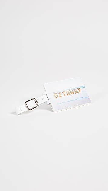 Gray Malin Getaway Luggage Tag