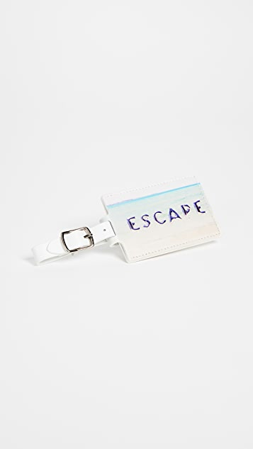 Gray Malin Escape Luggage Tag