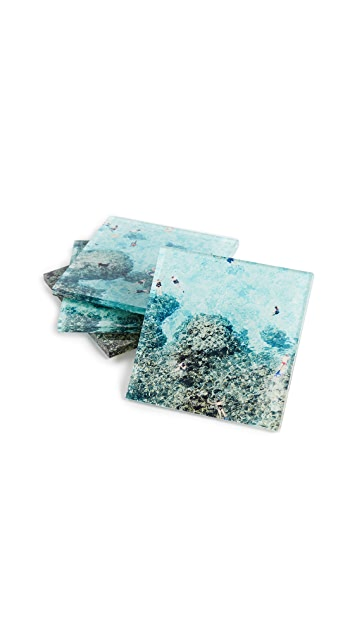 Gray Malin The Reef Coaster Set