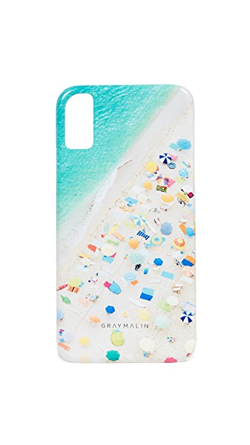 Gray Malin Neon Umbrella iPhone X Case