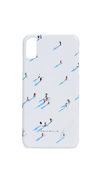 Gray Malin The Deer Valley Skiers iPhone Case