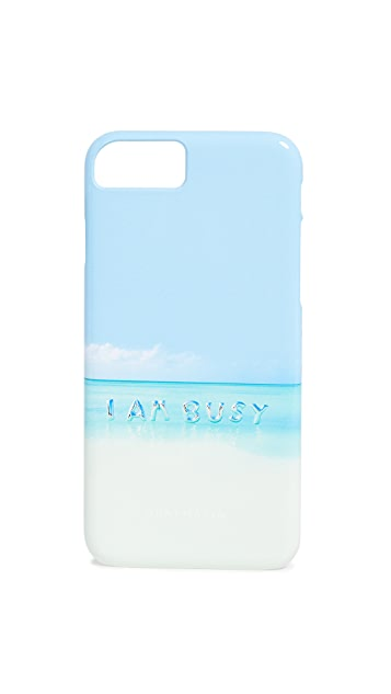 Gray Malin I Am Busy Balloons iPhone Case