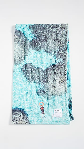 Gray Malin Bora Bora Beach Towel