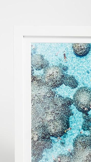Gray Malin The Reef, Bora Bora Mini Print