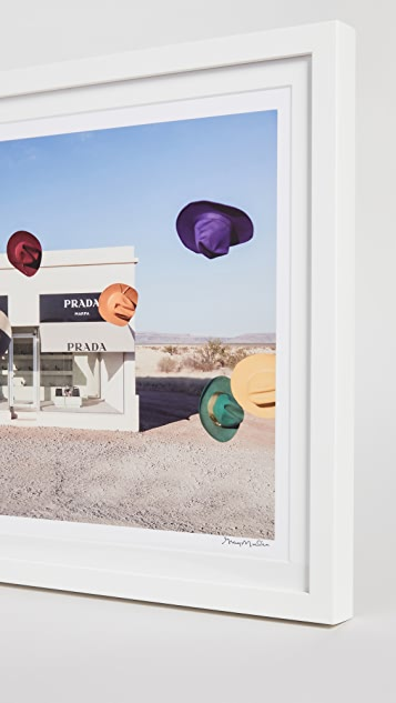 Gray Malin Rainbow Cowboy Hats I, Prada Marfa