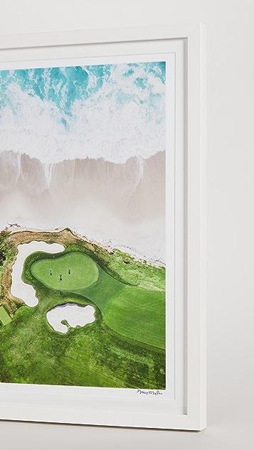 Gray Malin Hole 10, Pebble Beach Golf Links