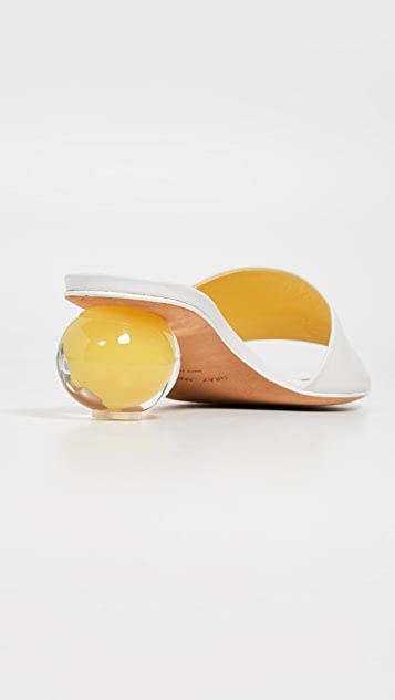 《格瑞的困扰》 Egg Piccola 无跟便鞋