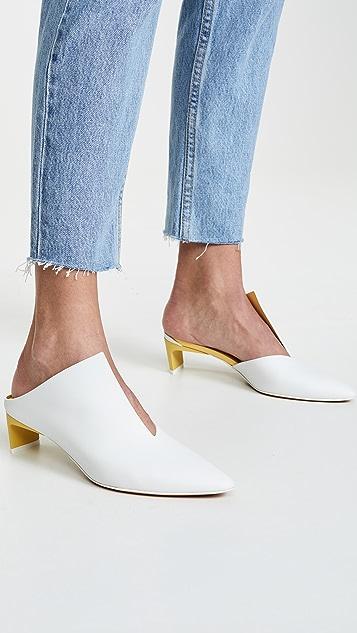 《格瑞的困扰》 Piega 穆勒鞋