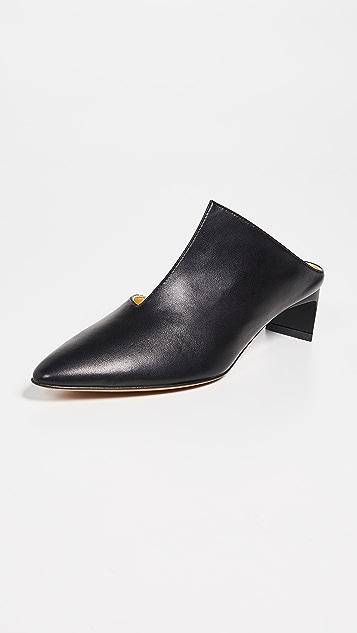 Gray Matters Piega 穆勒鞋