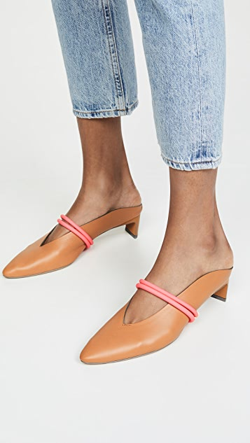 Gray Matters Piega Neon 穆勒鞋