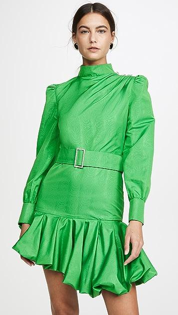 Giuseppe di Morabito 不对称系腰带迷你连衣裙