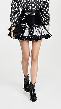 Latex Miniskirt