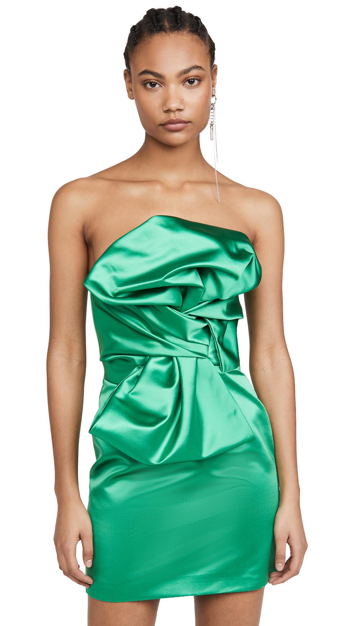Giuseppe di Morabito Strapless Mini Dress