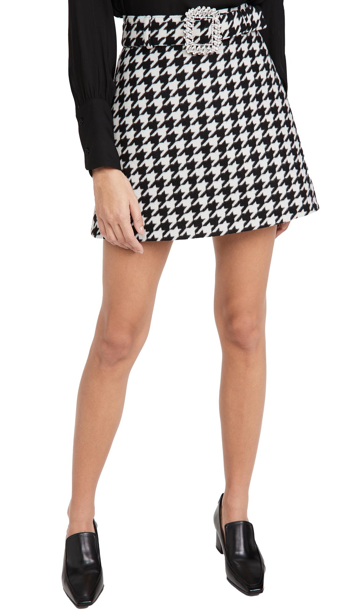 Giuseppe di Morabito Belted Miniskirt