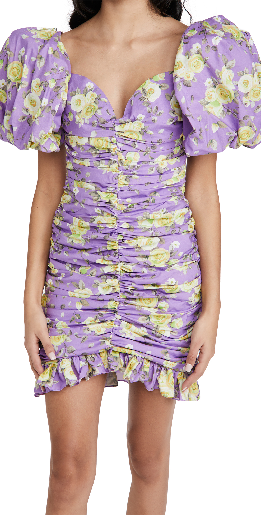Giuseppe di Morabito Puff Sleeve Dress