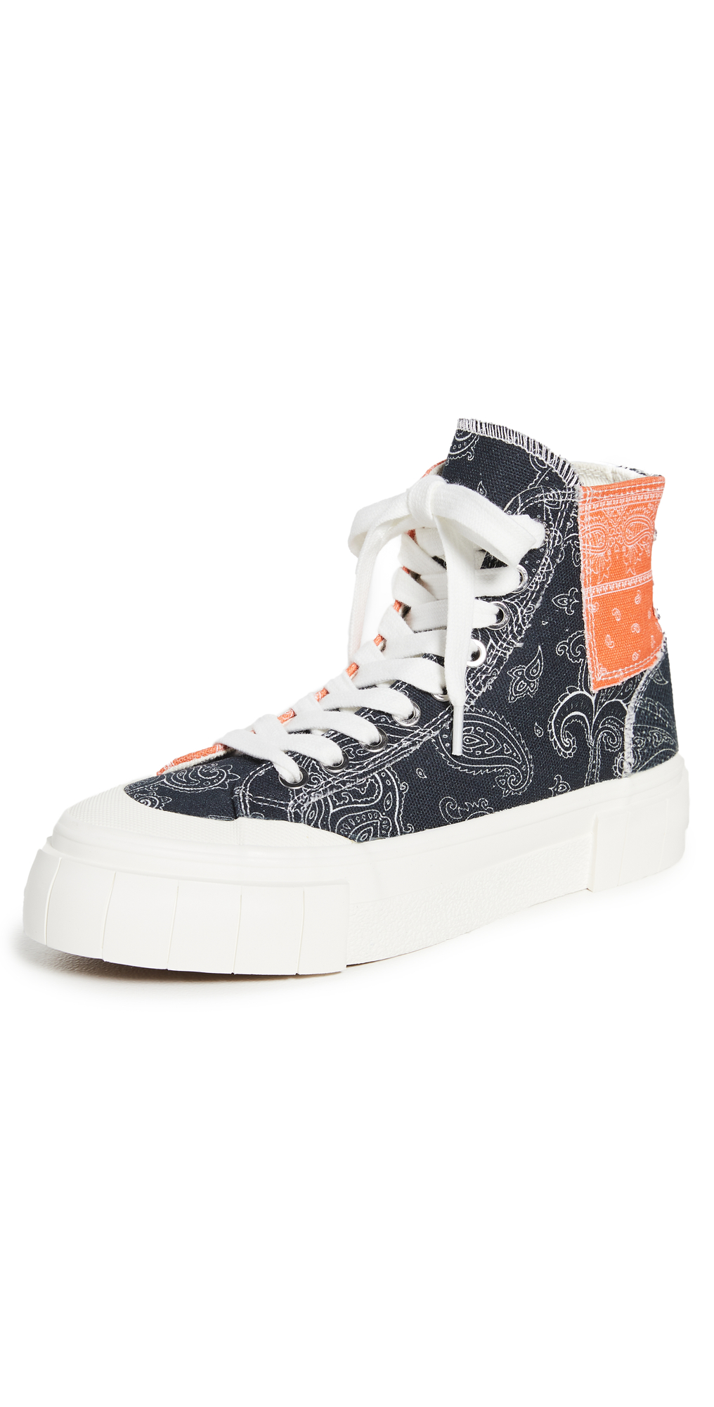 Palm Paisley Sneakers